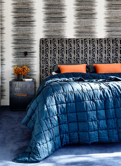 Eclectic Bedroom by Camilla Molders Design