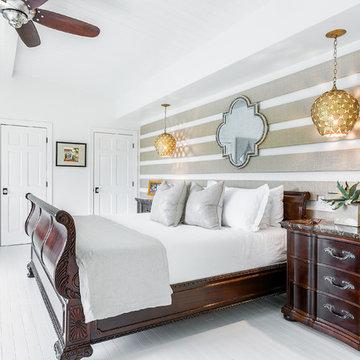 Beach Chic Home bedroom