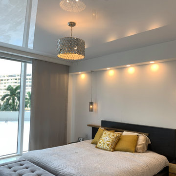 Beach Club Condo - High Gloss Ceiling