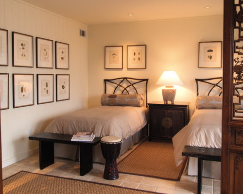 twin bed guest room home design ideas pictures remodel and decor