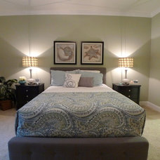 Contemporary Bedroom by Triangle Home Staging & Interior Design