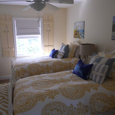 Beach Style Bedroom by All About You - Ann & Angelo Cane/Kristen Spencer