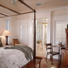 Traditional Bedroom by Cooper Johnson Smith Architects and Town Planners