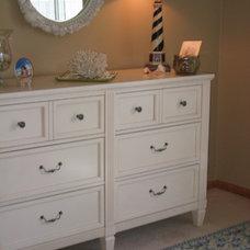 Tropical Bedroom by Susan E. Brown Interior Design