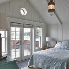 Beach Style Bedroom by Sykora Home Design