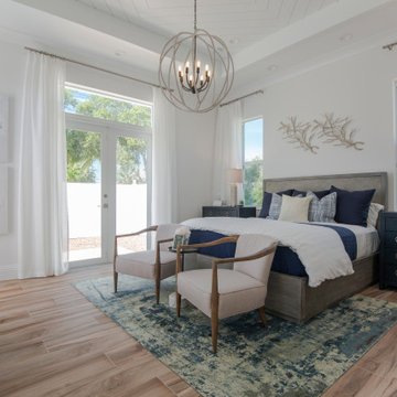 Beach Cottages at the Strand - Audobon Model Coastal Master Bedroom