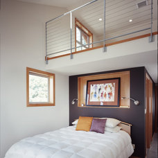 Contemporary Bedroom by Rhodes Architecture + Light