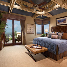Transitional Bedroom by Kurtz Homes Naples