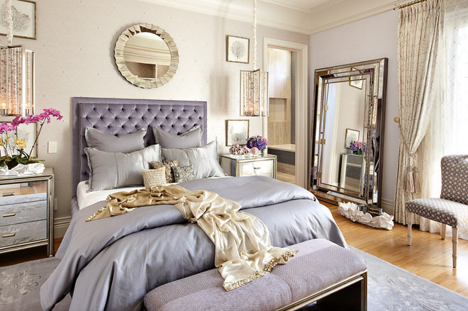 Eclectic Bedroom by Tara Dudley Interiors