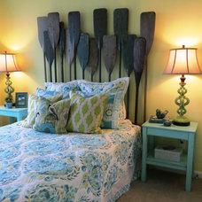 Beach Style Bedroom by Design Zeal