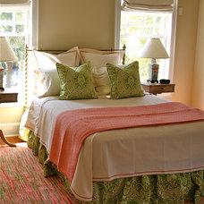 Transitional Bedroom by Alice Cramer Interiors