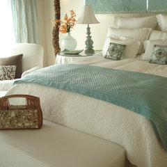 mediterranean bedroom by Dailinger Designs