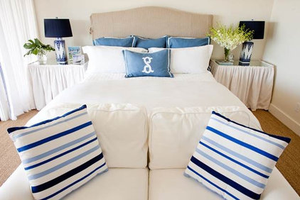 Beach Style Bedroom by Munger Interiors