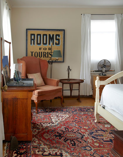 eclectic bedroom by Ken Gutmaker Architectural Photography