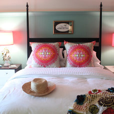 Beach Style Bedroom by Lisa Wolfe Design, Ltd