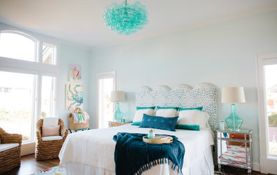 Room of the Day: Beachy Guest Room With a Whole New Vibe