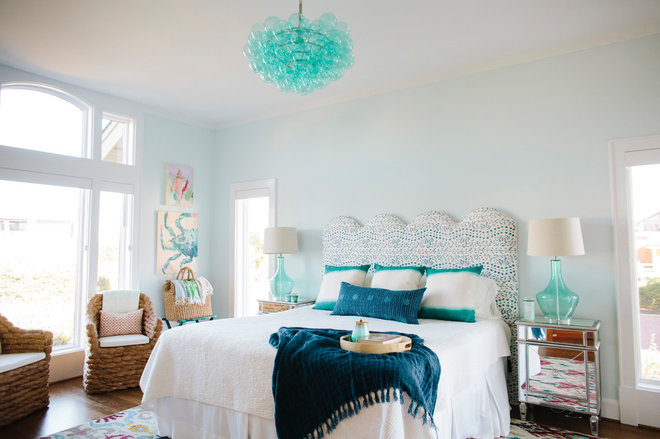 Beach Style Bedroom by Gathered
