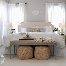 Beach Style Bedroom by Amen {Inspired} Design