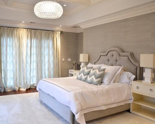 saveemail beach style bedroom master bedroom grasscloth wallpaper na home design ideas - Bedroom Wallpaper Designs Ideas