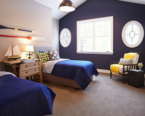 Navy Blue Walls Home Design Ideas Pictures Remodel And Decor
