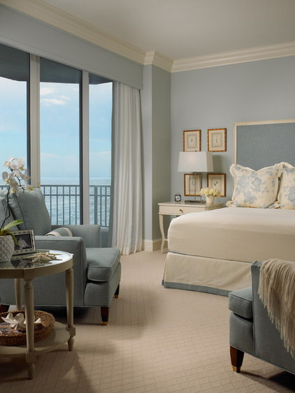 Beach Style Bedroom by jill Shevlin  - Intrinsic Designs