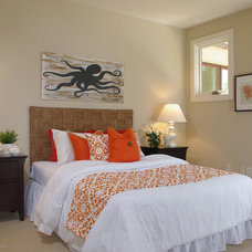 Beach Style Bedroom by Lisa Benbow - Garnish Designs