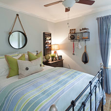 Beach Style Bedroom by Loftus Design, LLC