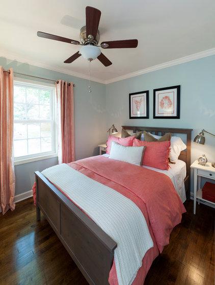 Beach Style Bedroom by Loftus Design, LLC