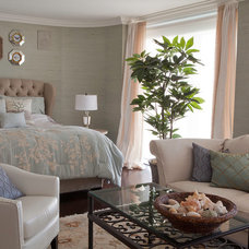 Beach Style Bedroom by Nina Williams Interiors