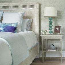 Beach Style Bedroom by Robert Legere Design