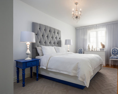 Royal Blue Bedroom Design Ideas Remodels Amp Photos Houzz