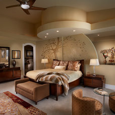 Contemporary Bedroom by Michelle Miller Design, Inc.