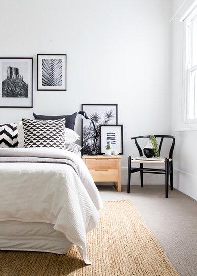 Scandinavian Bedroom by Advantage Interior Design