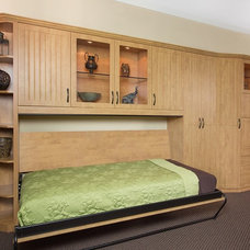 Traditional Bedroom by Valet Custom Cabinets & Closets