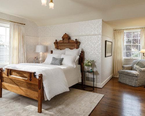 Tudor style homes houzz for Tudor style bedroom