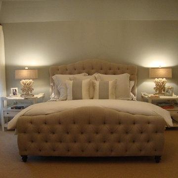Beautiful and Serene Bedroom - Greys, Blues, Creams