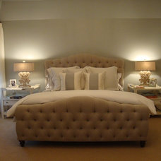 Traditional Bedroom by Quatrine Custom Furniture
