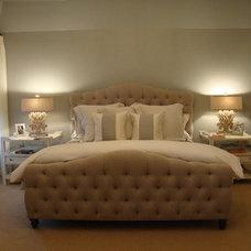 Beach Style Bedroom by Quatrine Custom Furniture
