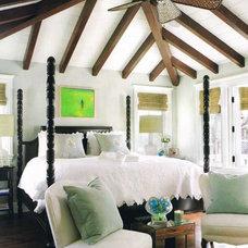 Mediterranean Bedroom by LUXE INTERIORS