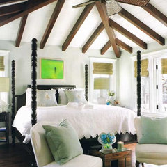 mediterranean bedroom by LUXE INTERIORS