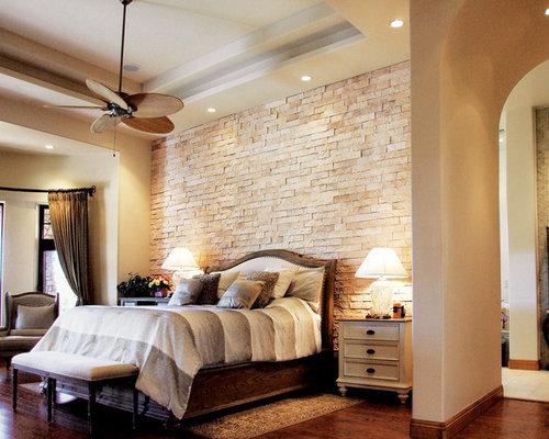 beautiful bedroom 3 split limestone veneer accent wall coronado