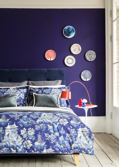 Contemporary Bedroom by Button & Sprung