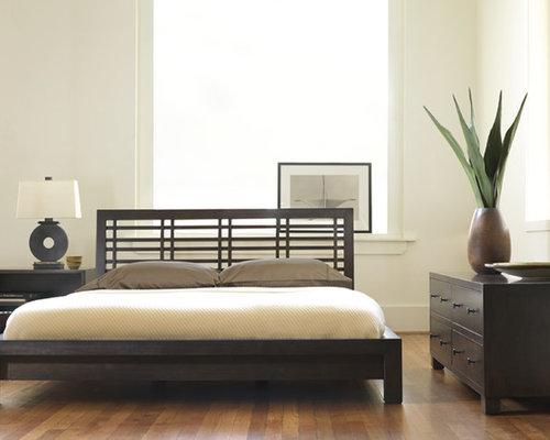 Headrest bed houzz for Usona bed
