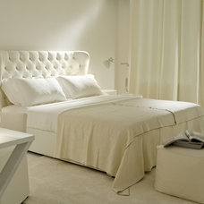 Transitional Bedroom by usona