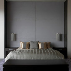 Contemporary Beds by Aguirre Design