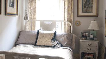 bed with custom hamper/bench