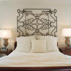 Eclectic Bedroom by Niblock Homes