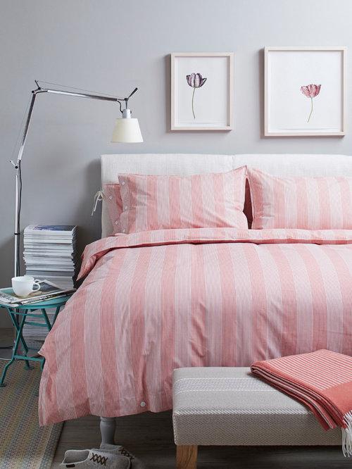 Pink Gray Girls Bedroom