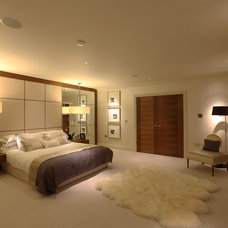 Contemporary Bedroom by Sarah Ward Associates