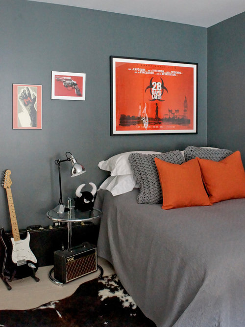 Grey And Orange Home Design Ideas Pictures Remodel And Decor